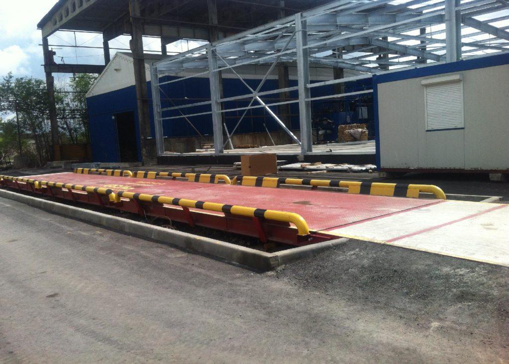 Автомобильные электронные весы 80 тонн